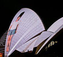 Sydney Opera House @ Sydney Vivid Festival by kutayk