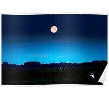Full moon in june Poster