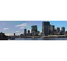 Brisbane from Southbank (I-i) Photographic Print