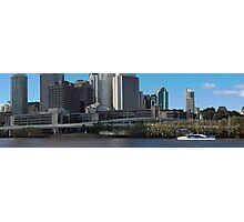 Brisbane from Southbank (I-ii) Photographic Print