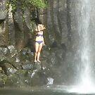 Millaa Millaa Falls , Millaa Millaa, Atherton Table Land North Queensland  by Virginia McGowan