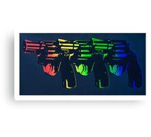 Pop Guns Canvas Print