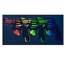 Pop Guns Photographic Print