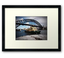 Ferry Framed Print