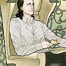 Loki Laufeyson by rellicgin