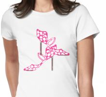 PINK AND SASSY     TEE/BABY GROW Womens Fitted T-Shirt