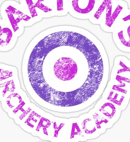 Barton's Archery Academy Sticker