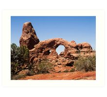 Turret Arch, Arches National Park, Utah Art Print