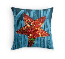 Posidonia oceania + Starfish Throw Pillow