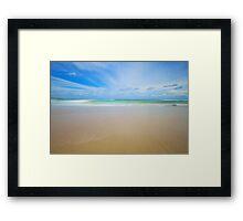 Cronulla Shores Framed Print