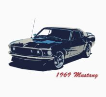 Mustang Cutout Tee Kids Clothes