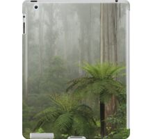 Trees in the mist iPad Case/Skin