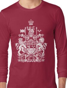 CANADA-COAT OF ARMS Long Sleeve T-Shirt
