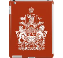 CANADA-COAT OF ARMS iPad Case/Skin
