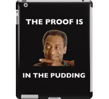 The Proof Is In The Pudding : White Writing iPad Case/Skin