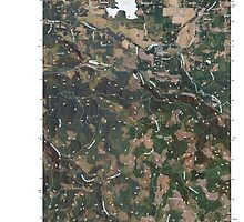 USGS Topo Map Washington State WA Lake Lawrence 20110405 TM by wetdryvac