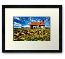 Farmstead Bedstead Framed Print