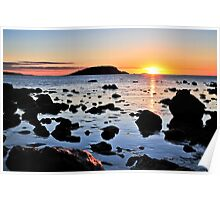 Sunrise at Victor Harbor Poster