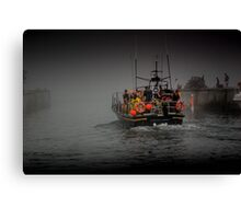 Into The Gloom Canvas Print