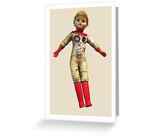 Interiority doll Greeting Card
