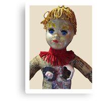 Interiority doll-head Canvas Print
