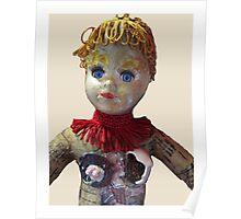 Interiority doll-head Poster