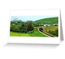 Branch Freight Train Greeting Card
