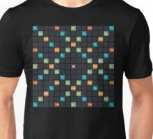 Blank word game board Unisex T-Shirt