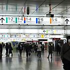 Shinjuku Station West Entrance/Exit by junkgirl