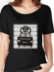 Meerkat Mugshot Women's Relaxed Fit T-Shirt