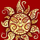 Sun God Iphone by TheMaker