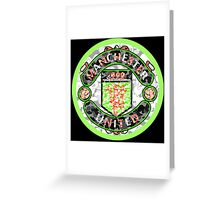 MANCHESTER BLACK Greeting Card