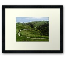 Epic Landscape Framed Print