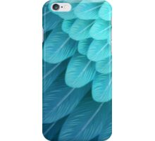 Blue & Yellow Macaw (wing) iPhone Case/Skin