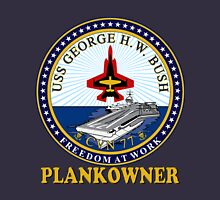 USS George H.W. Bush Plankowner Crest for Dark Colors Classic T-Shirt