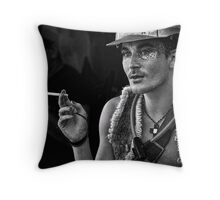 young nimbin man Throw Pillow