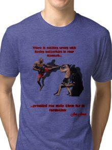 "Jonny ""Bones""Jones Tri-blend T-Shirt"