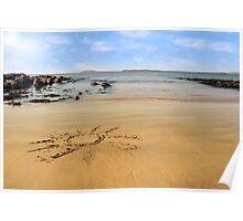 sunshine beach Poster