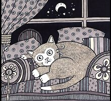 Cozy Cat by Anita Inverarity