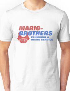Mario Bros Plumbing Co. Unisex T-Shirt