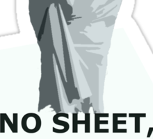 No sheet, Sherlock Sticker
