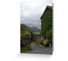 ENGLISH GREENERY Greeting Card