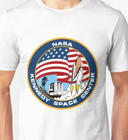 NASA's Kennedy Space Center Logo Unisex T-Shirt