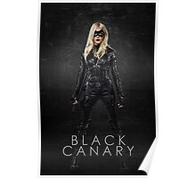 Black Canary | Laurel Lance | Arrow Season 3 Poster