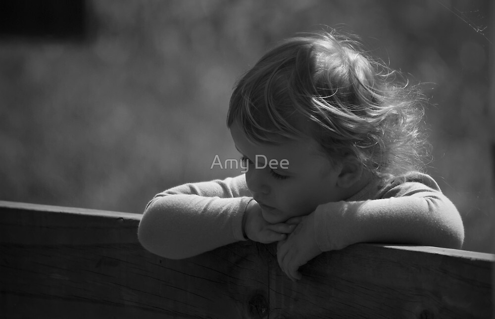 Thoughtful Innocence by Amy Dee