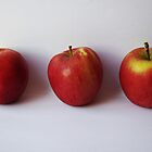 Three Apples by Samantha Sheldon