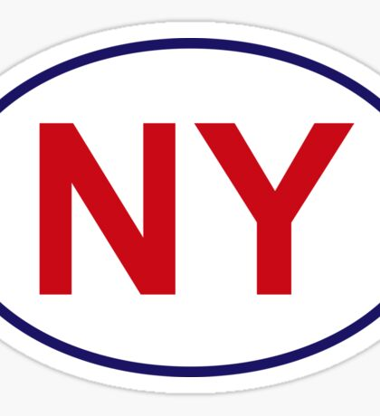 New York State Sticker Sticker