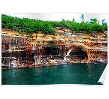 Pictured Rocks 8 Poster