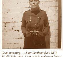 KGB Cutie by peter kelly