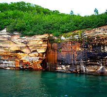 Pictured Rocks 7 by Debbie  Maglothin